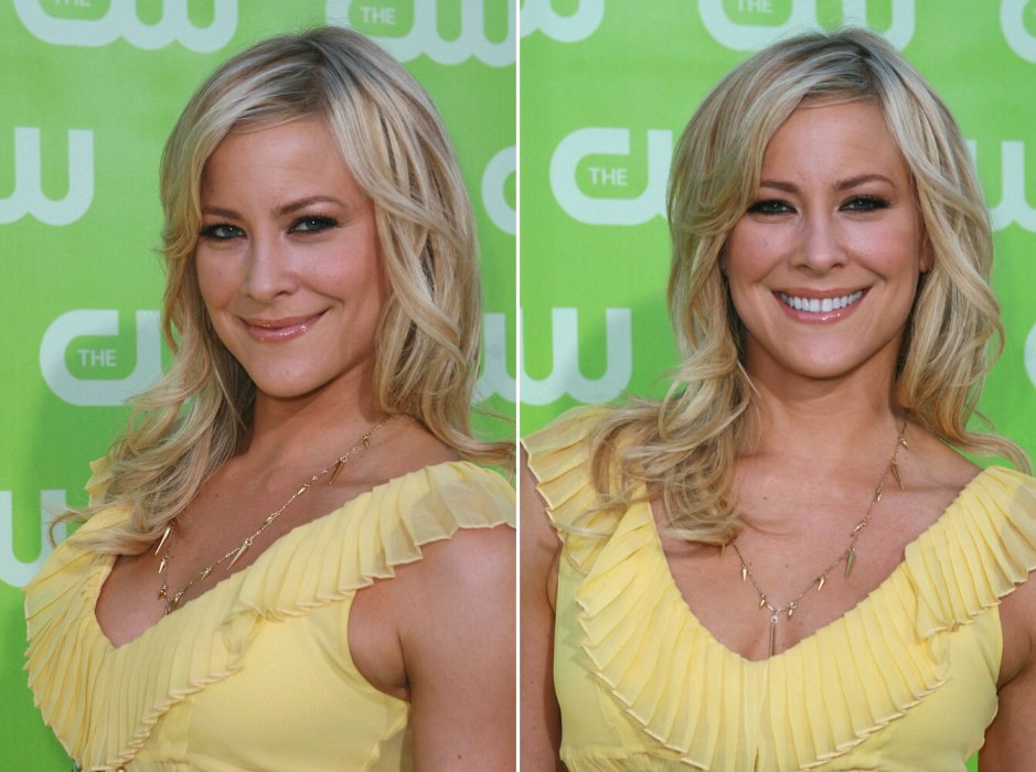 Brittany Daniel Long Layered Hairstyle With Off Center