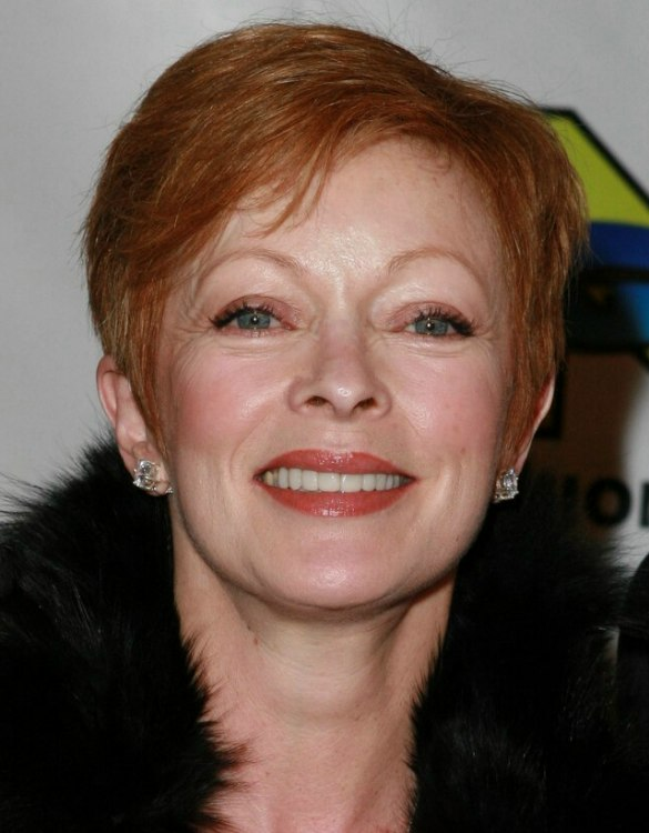 Frances Fisher Hairstyle Short Haircut For Busy Ladies