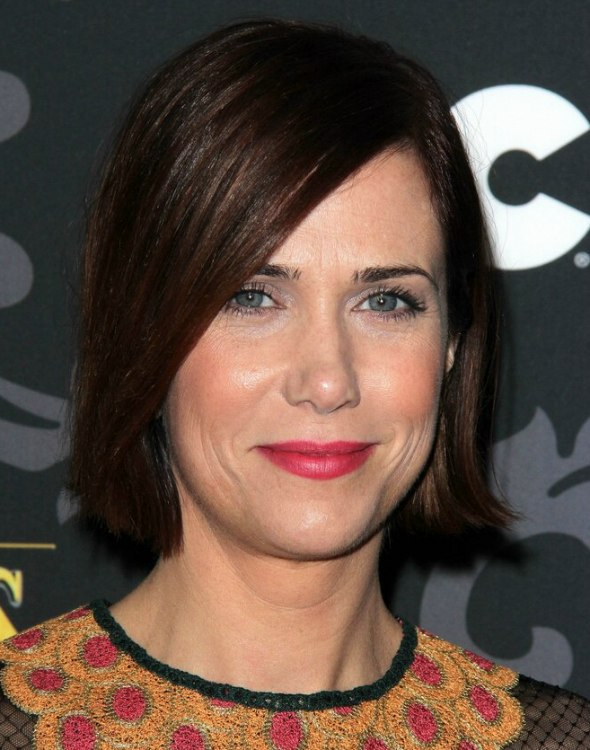 Kristen Wiig Short Hairstyle For A 40 Year Old Woman