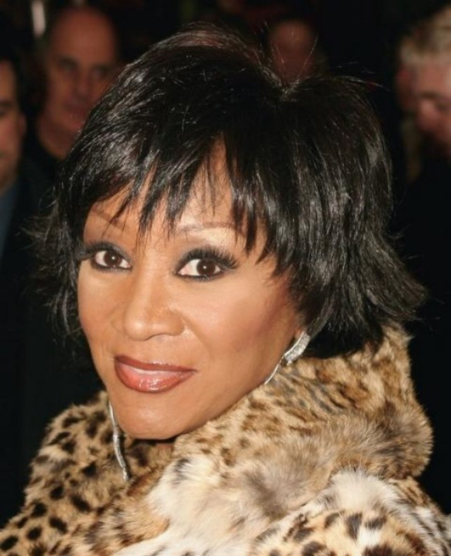 patti labelle with her hair in a short shag style