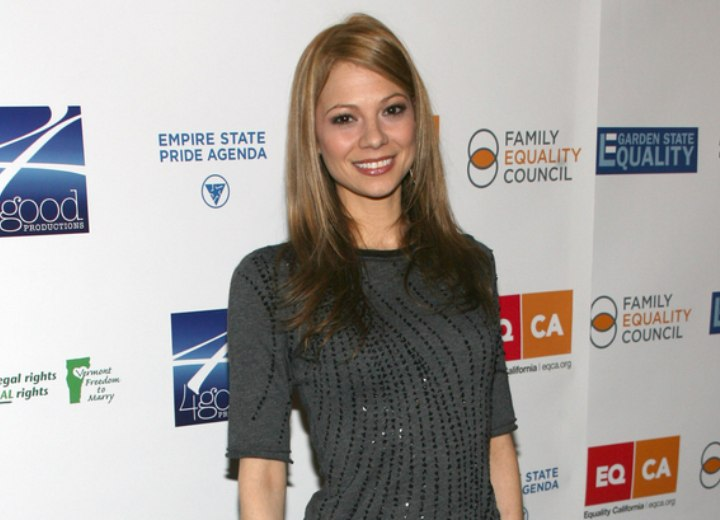 Tamara Braun Easy To Keep Hairstyle For Long Straight Hair