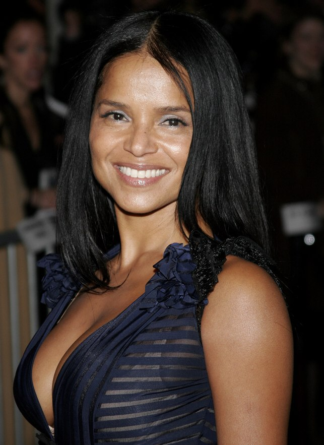 Victoria Rowell Long And Straight Black Hair With Layers