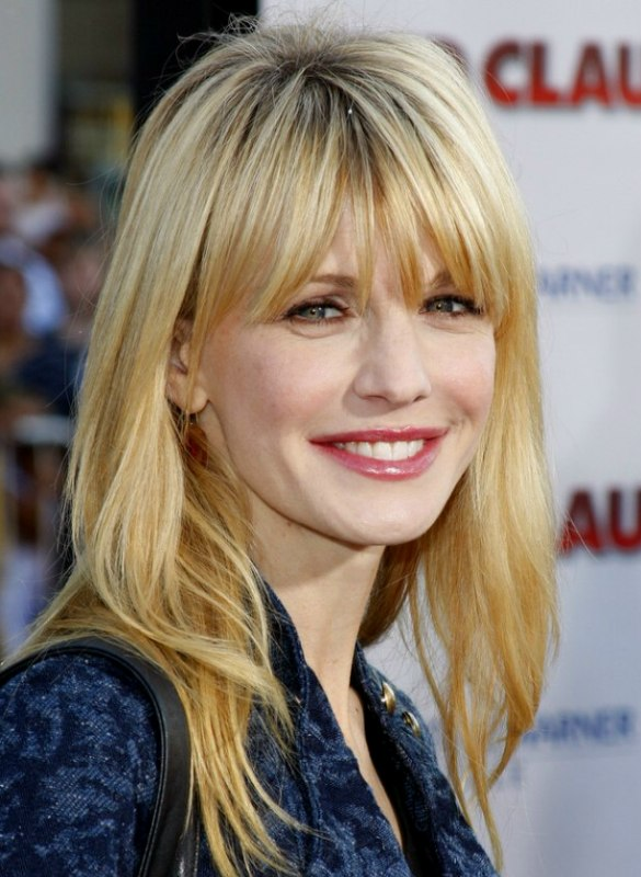 Kathryn Morris Long And Easy To Maintain Hairstyle