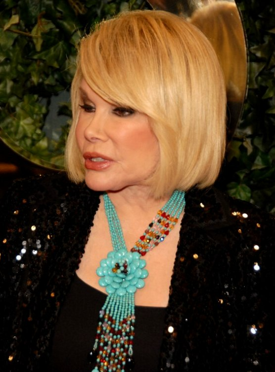 Profile Picture Of Joan Rivers Bob Haircut With A Slight
