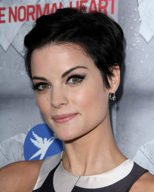 Jaimie Alexander Cute Pixie With Soft Touches Around The
