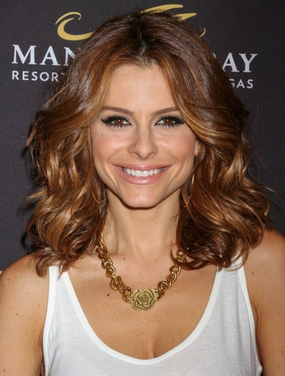 Maria Menounos Ombr Lightened Hair Graduating From Brown