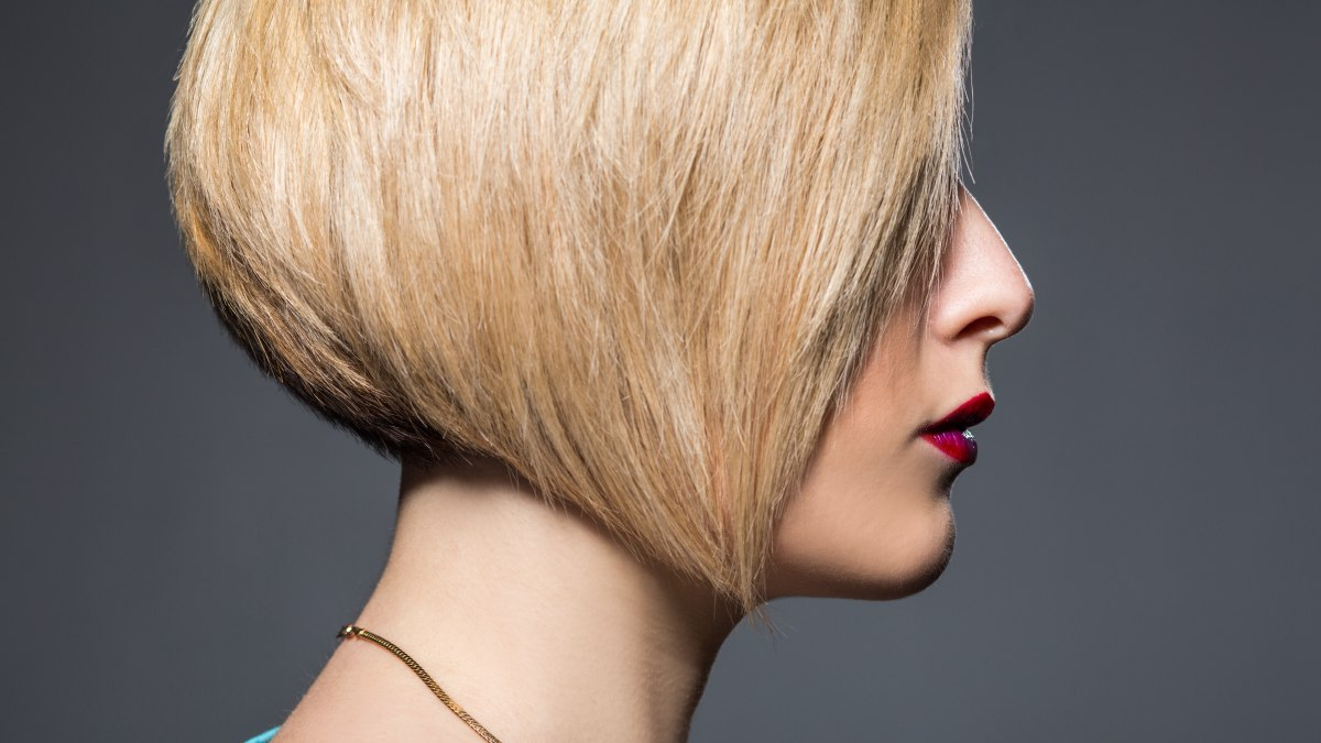 Angled Inverted Or Chinese Bob And Your Facial Shape