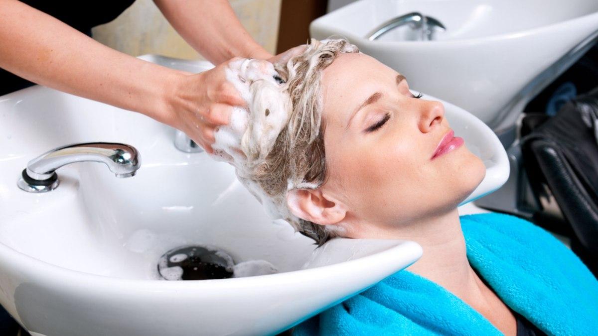 shampoo sink or hair salon basin danger