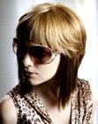 trendy medium length hair