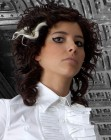 curly hairstyle - Mikel Luzea