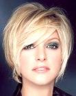 short hairstyle - Lucie Saint-Clair