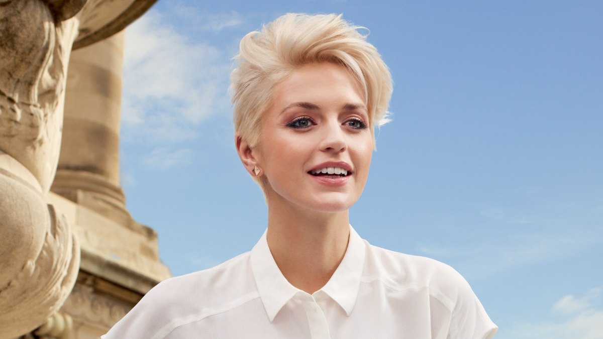 Short Masculine Haircut With Feminine Styling