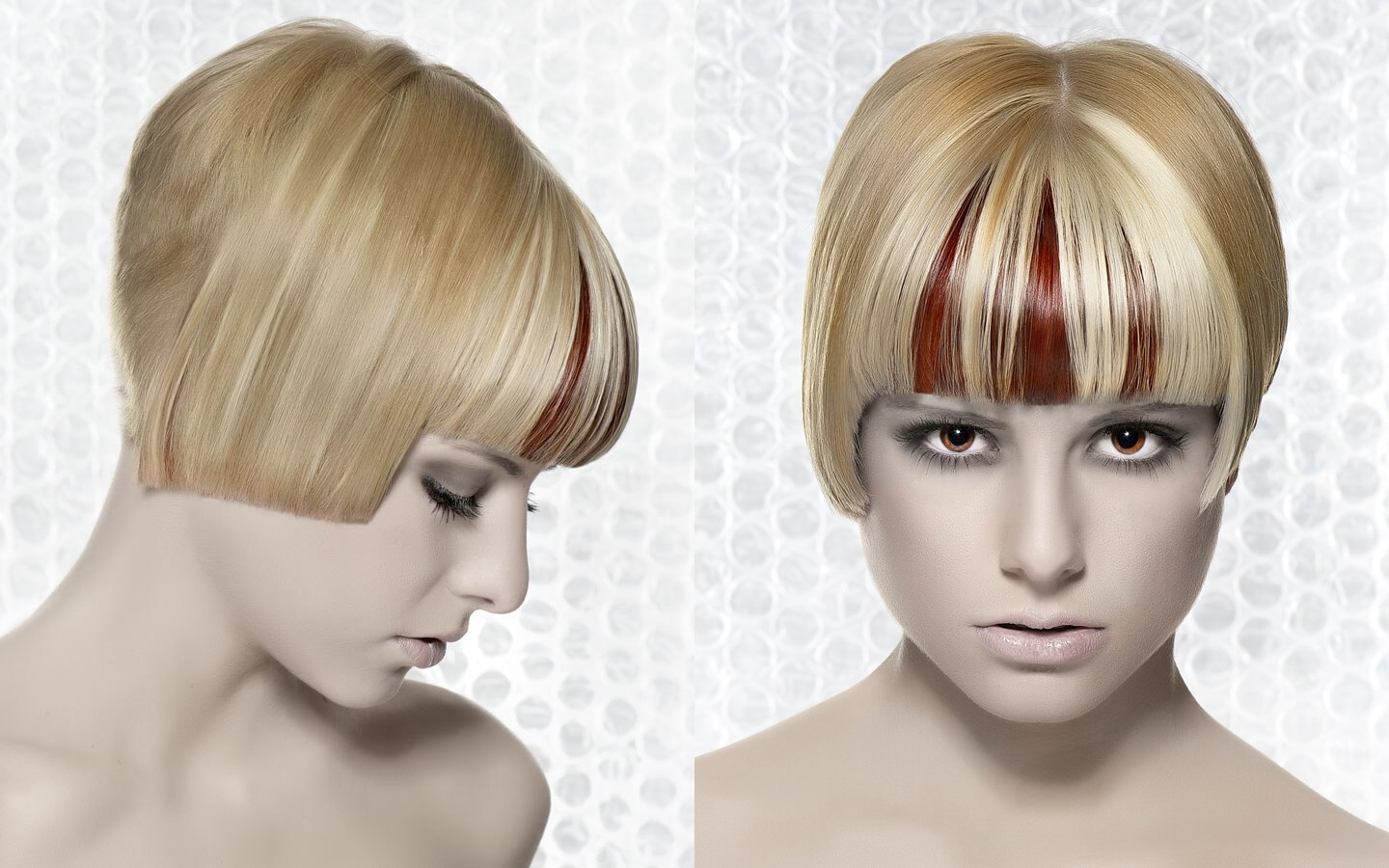 Short Haircut With A Short Nape Side View