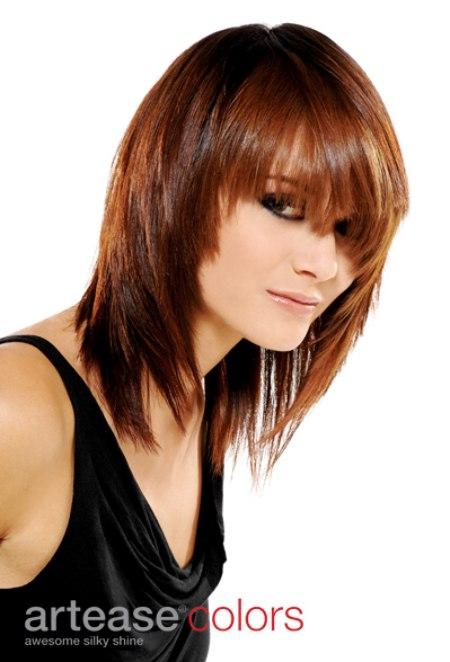 Milk Chocolate Brown Hair Color Long Sleek And Youthful