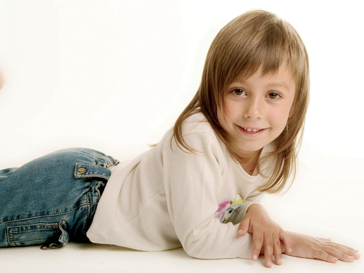 Soft Razor Cut Hair For Little Girls