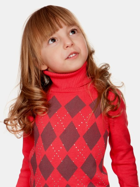 Long Hair With Big Curls For Little Girls