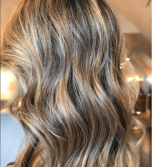 honey hair highlights