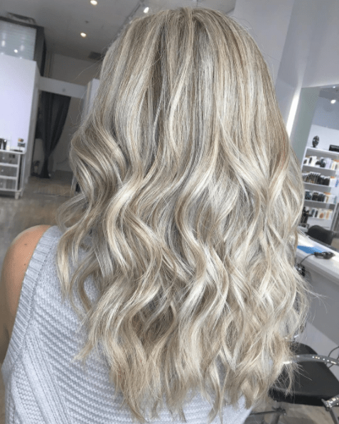 Hair Blonde with ash blonde highlights