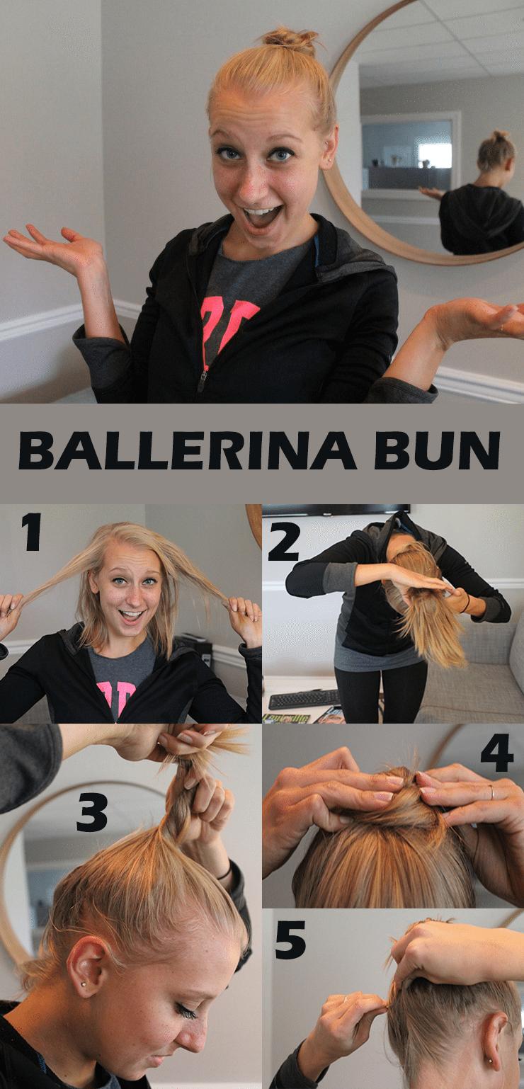 Ballerina Bun Hairstyle