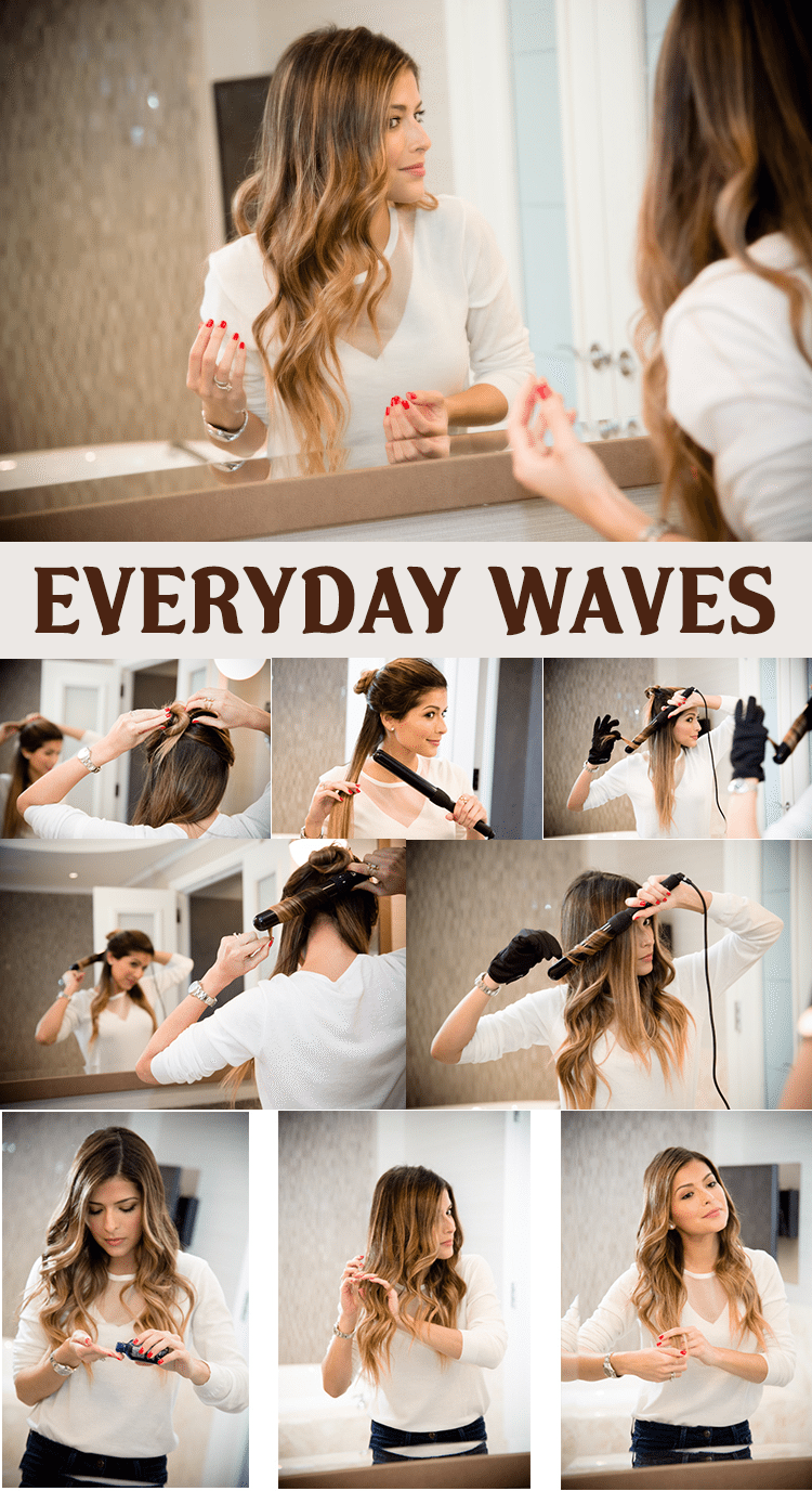 EVERYDAY WAVES HAIRSTYLE