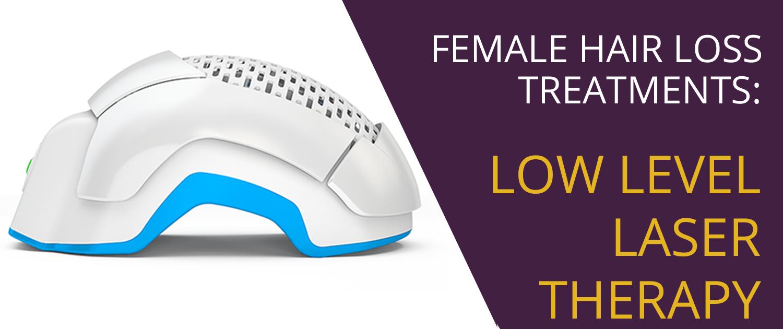 Low level laser treatment for women