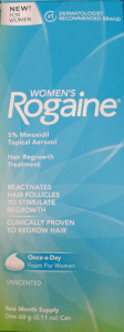 Treating Androgenic Alopecia with Women's Rogaine