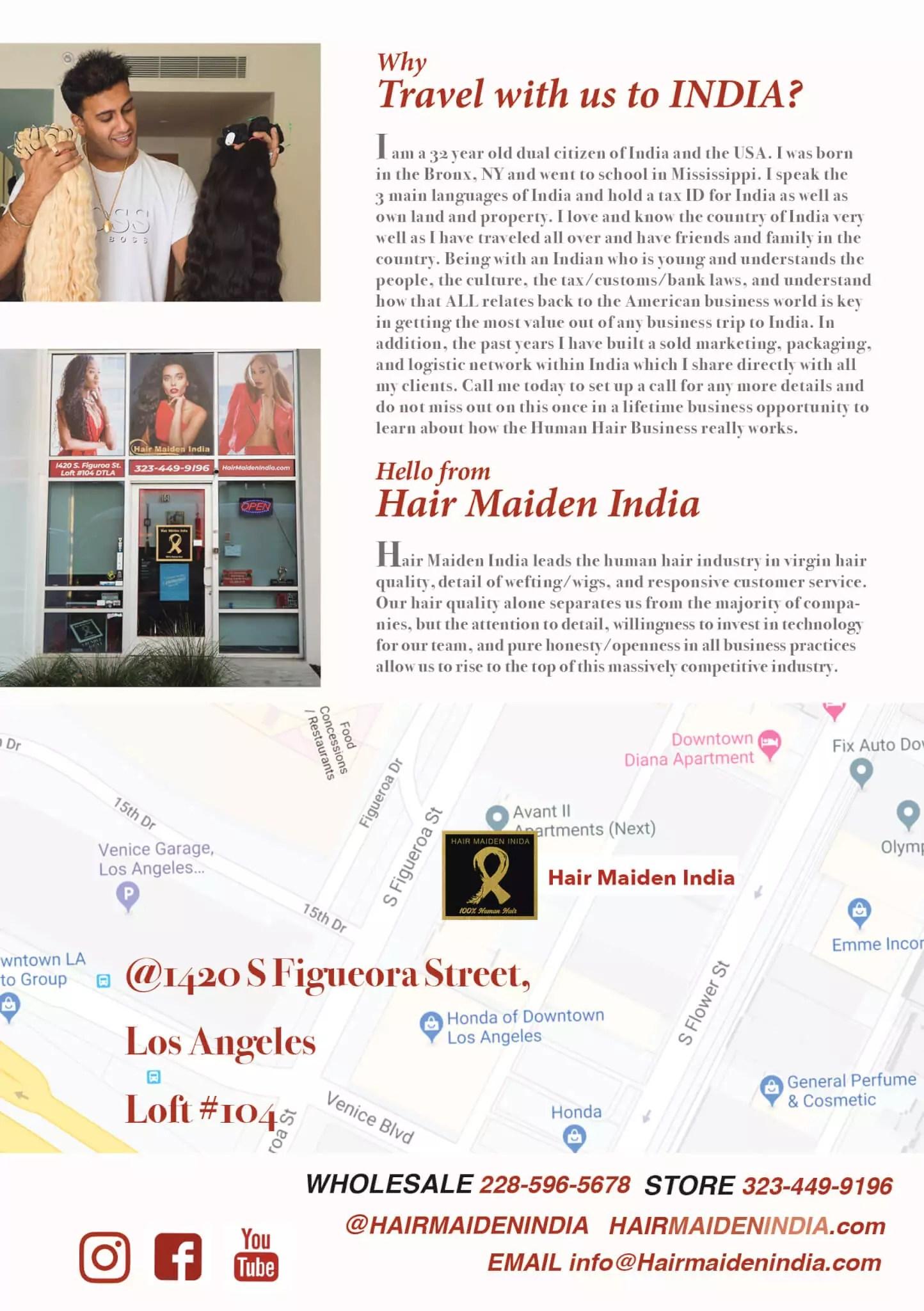 Indian Human Hair Tour
