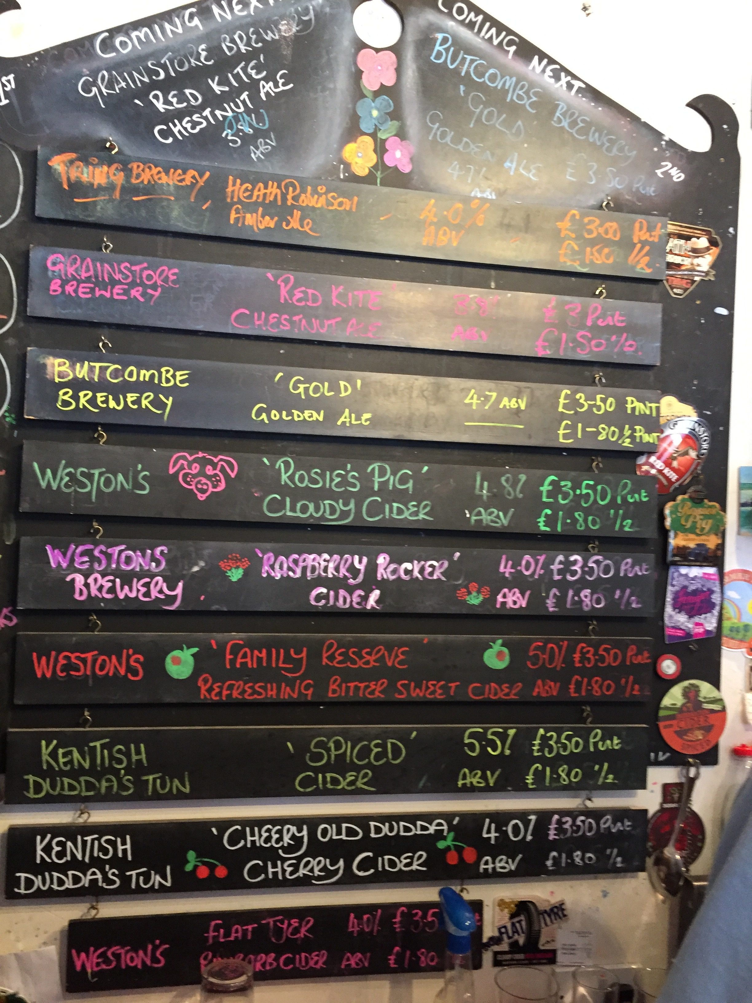 The Ale & Cider Board