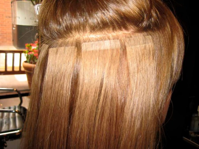 Hot head tape in hair extensions reviews hairsstyles it s kiizzababy hair extensions the good bad and ugly pmusecretfo Images