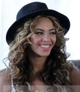 18 Inch European Style Long Brown Beyonce Knowles Curly