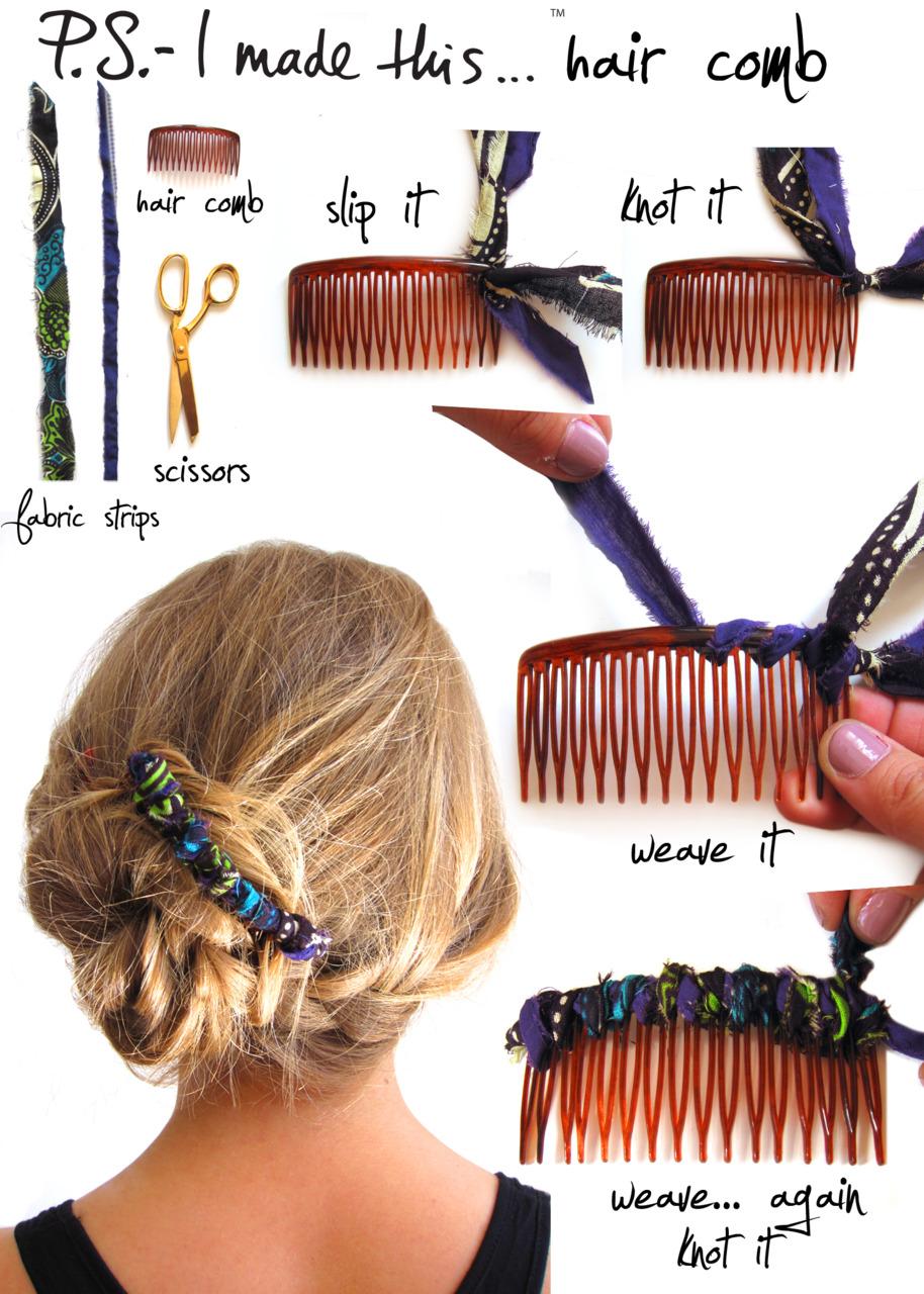 Best Hair Accessory DIYs Hair Romance