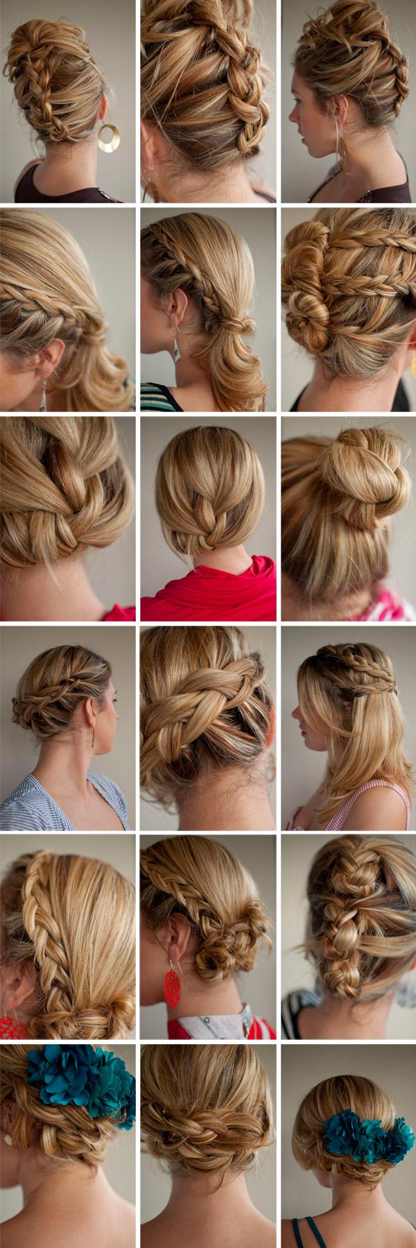 new hair romance hairstyle challenge - 30 braids in 30 days