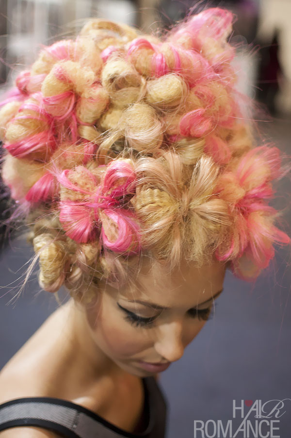 Big Hair Friday Flowers Made Of Hair Hair Romance