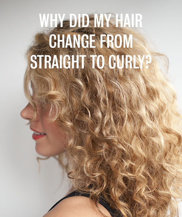 Curls Week Why Did My Hair Change From Straight To Curly Hair Romance