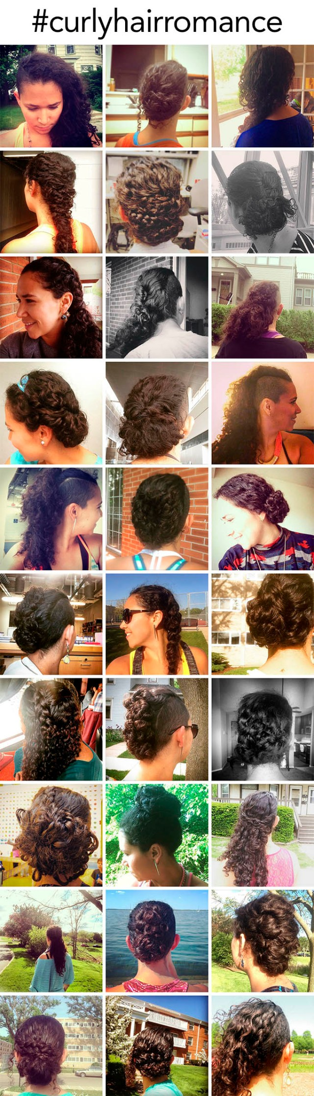 here's what happens when you do my 30 day hair challenge