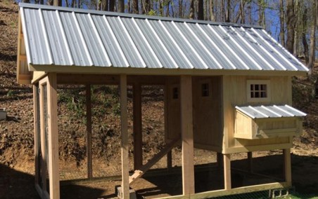 Roof for Chicken Coop