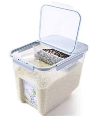 Grains in Closed Container