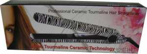 Hair Straightener Iron Zebra Print Ceramic Professional review