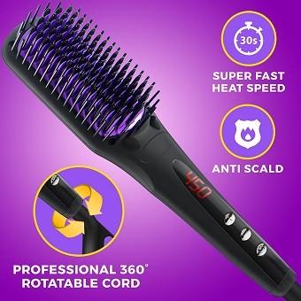 Miss Queen Hair straightening brush
