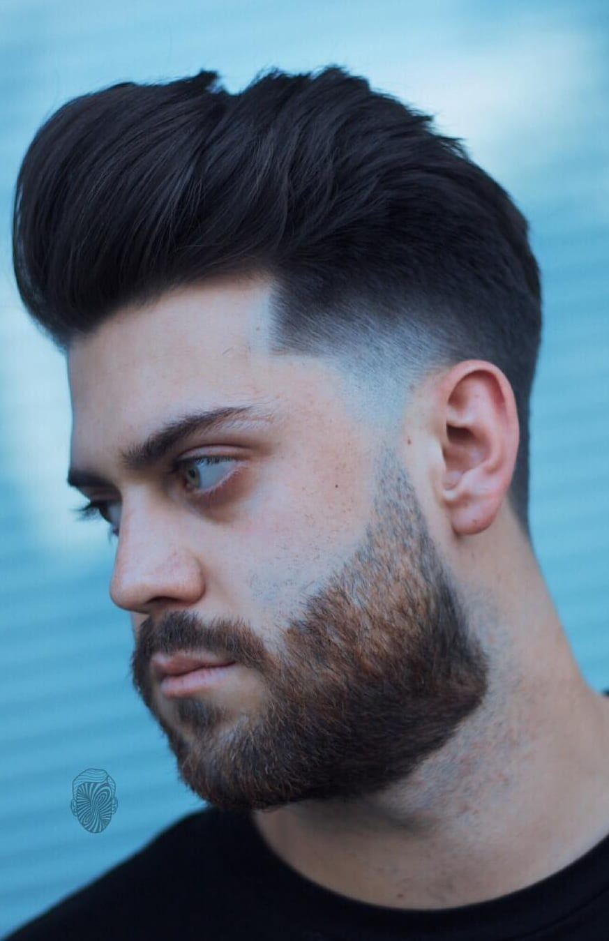 15 Hottest High Fade Pompadour Hairstyle Worth Trying Now15 Hottest High Fade Pompadour Hairstyle Worth Trying Now