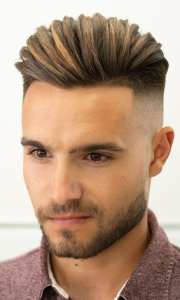 20 High Fade Pompadour Hairstyle Worth Trying