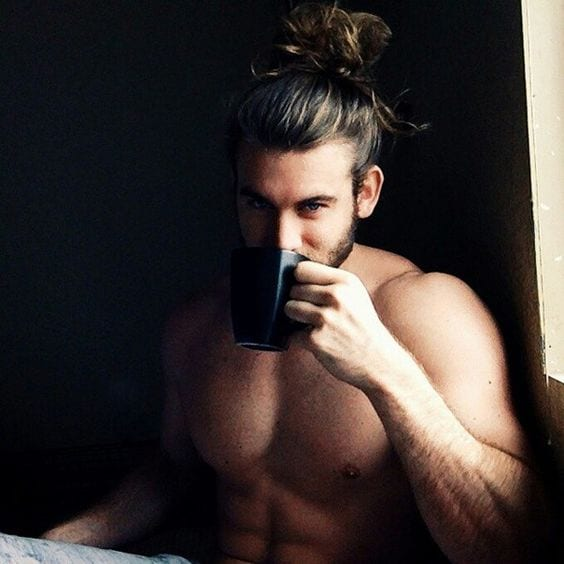 Hairbun for men