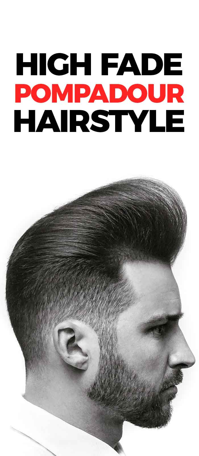 High Fade Pompadour Hairstyle!