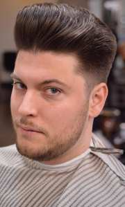 Pompadour Hairstyle Worth Trying!