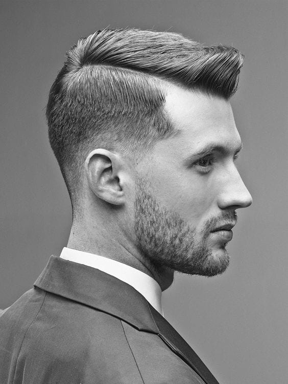 Suited-men-with-short-undercut-hair