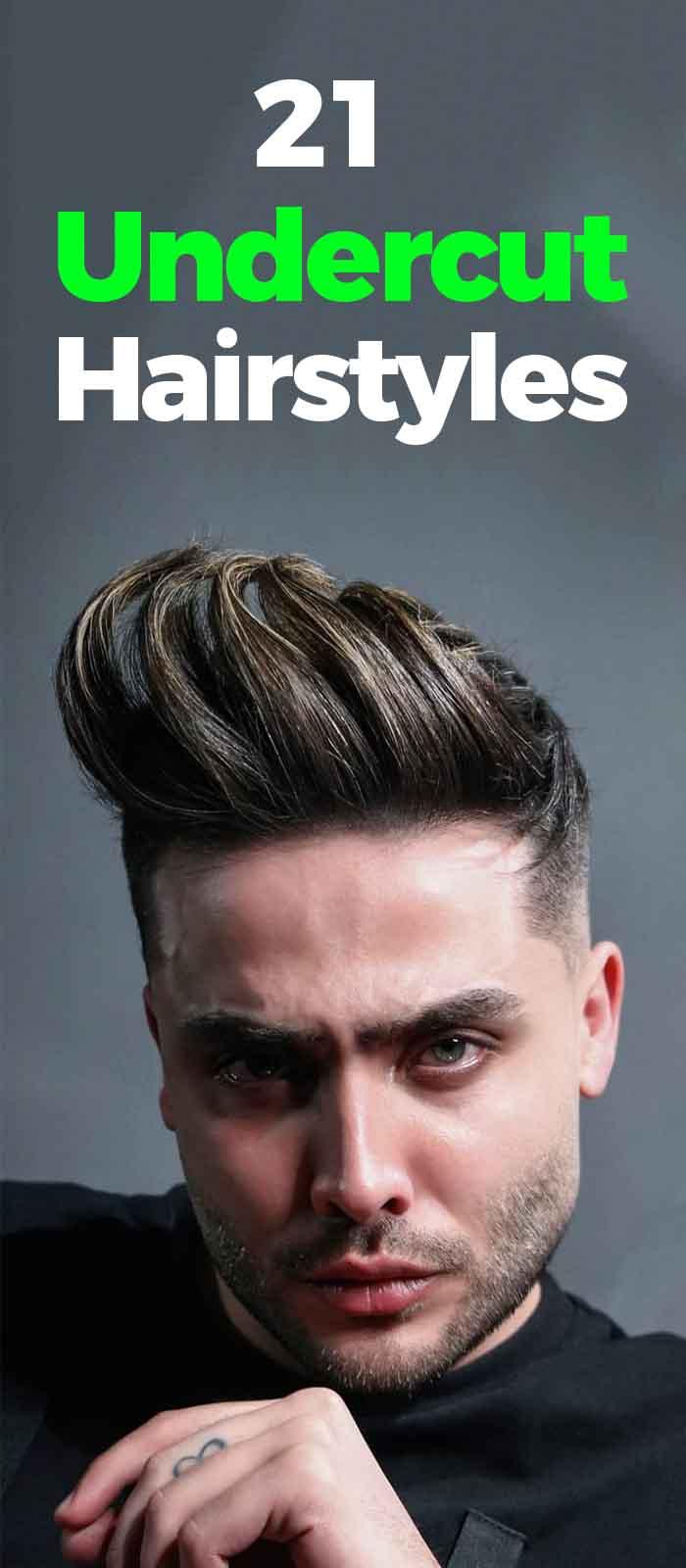 Undercut Hairstyles For Men 2019