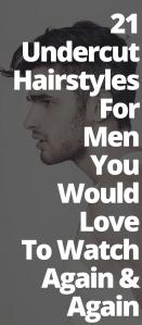 Undercut Hairstyles Men Would Love