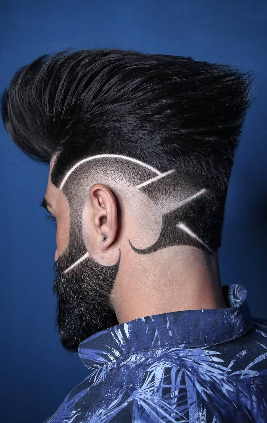 Cool Haircut Designs For Guys In 2019