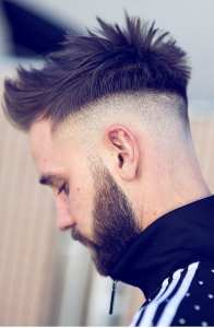 Trendiest Undercut Hairstyles To Compliment Your Beard On Pinterest Right Now