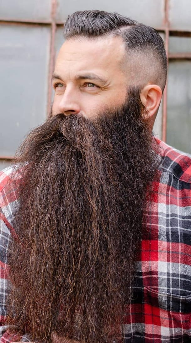 Undercut Hairstyles To Compliment Your Beard Right Now